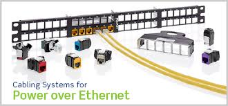 E&T levert Power over Ethernet cabling